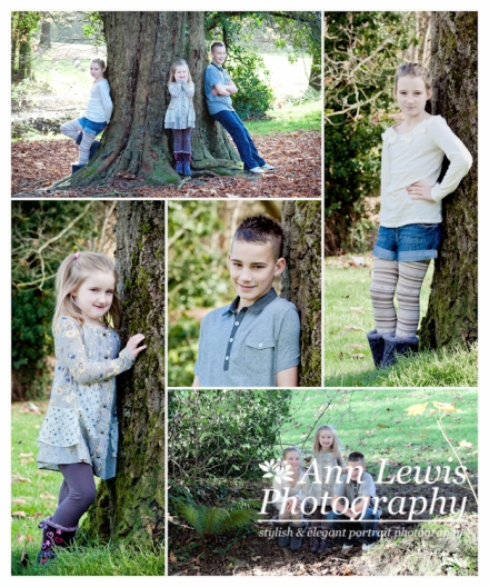 Selection of images taken of kids portraits
