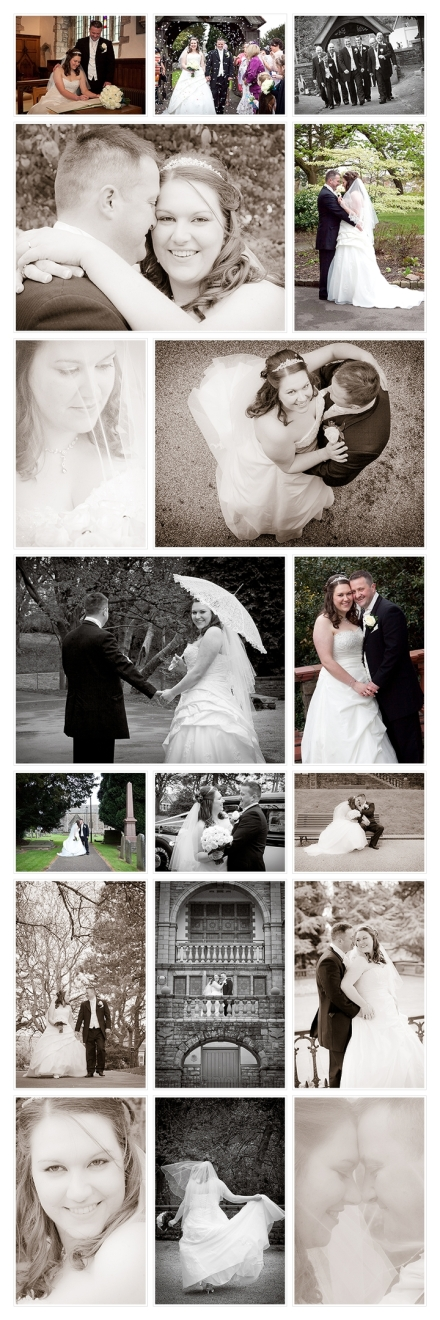 Wedding Photographer Cardiff at Parc Golf Club, Newport